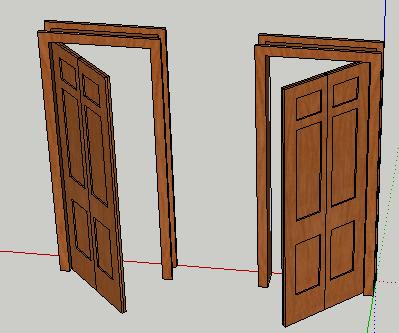 6 edges to rubies the complete sketchup tutorial for Sketchup door