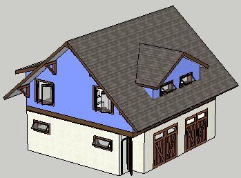 House model google sketchup